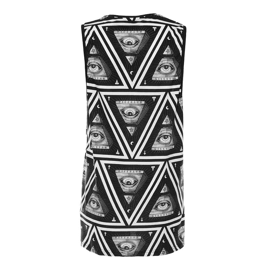 Kill Star Illuminati Vest Top (Black)