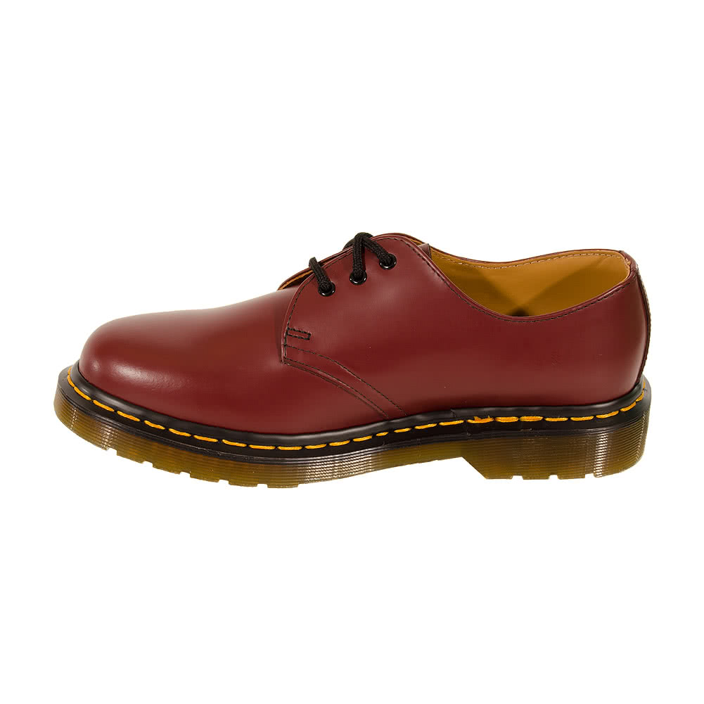 Dr Martens 1461 Smooth Shoes (Cherry Red)
