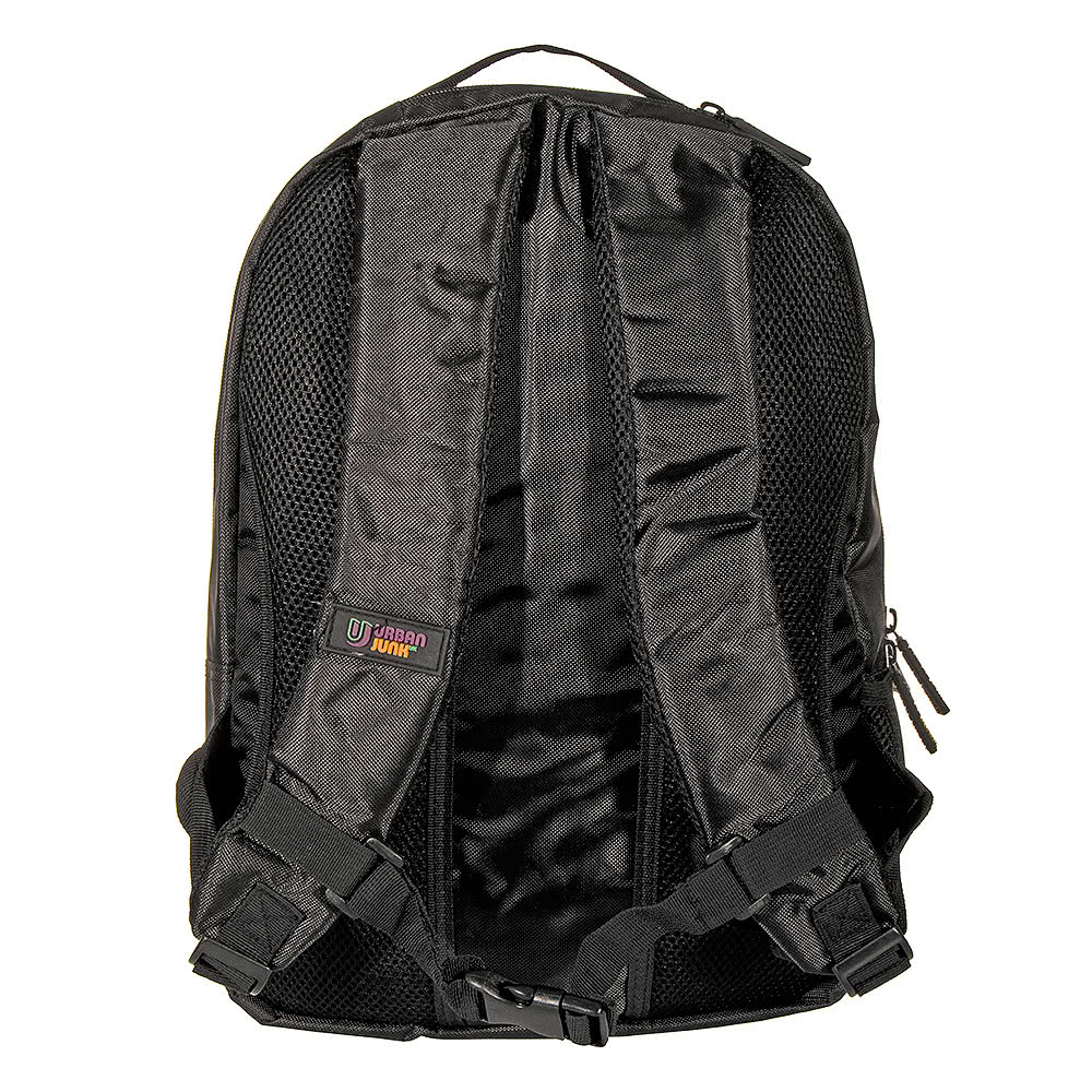 Urban Junk Word Up Night Backpack (Black)