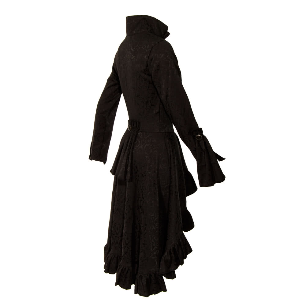 Golden Steampunk Huntress Coat (Black)