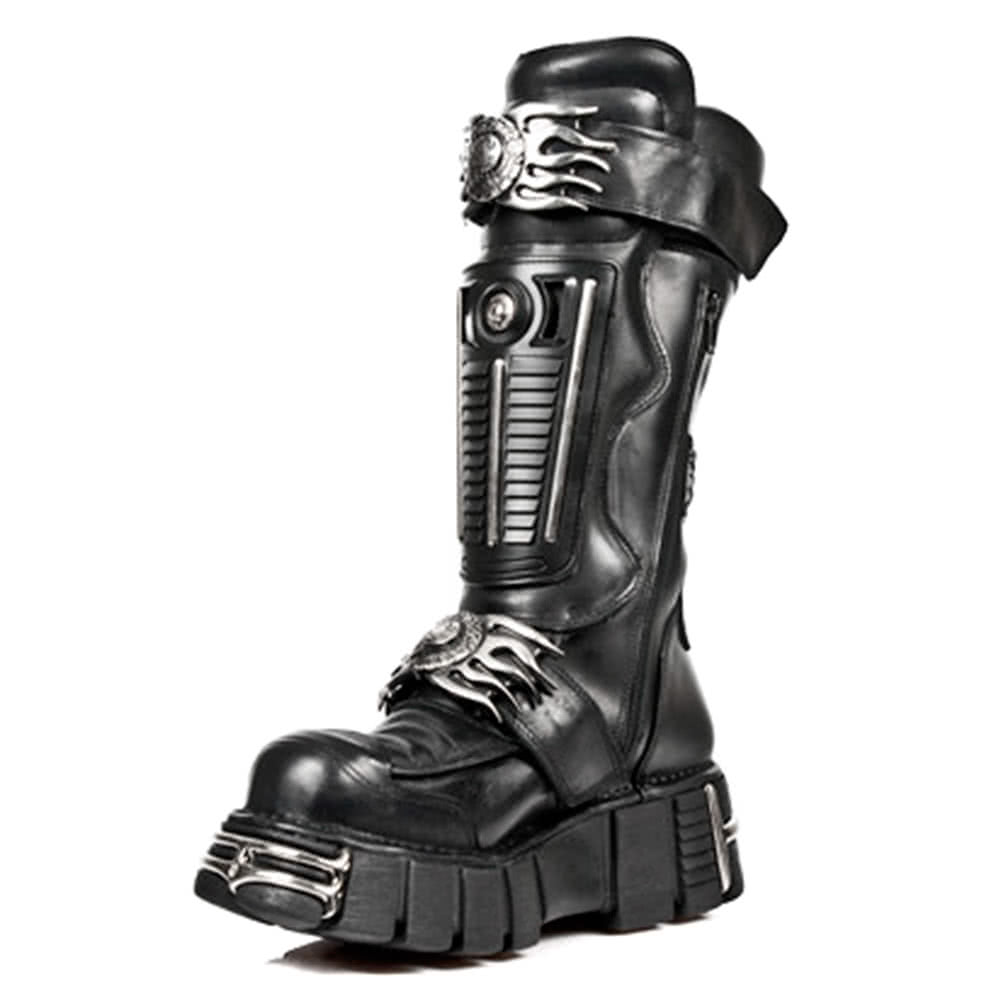 New Rock Boots Style M1025-S1 (Black)