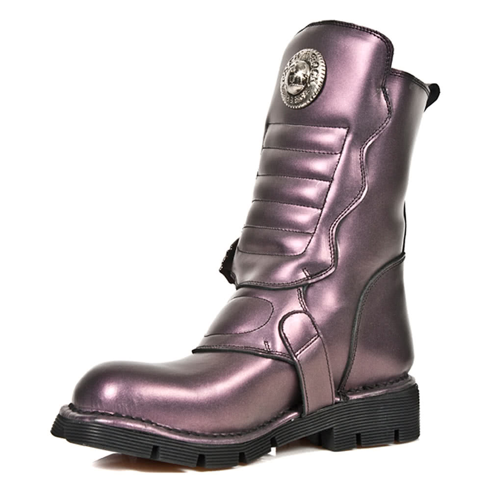 New Rock Boots Style M1391-S4 (Purple)