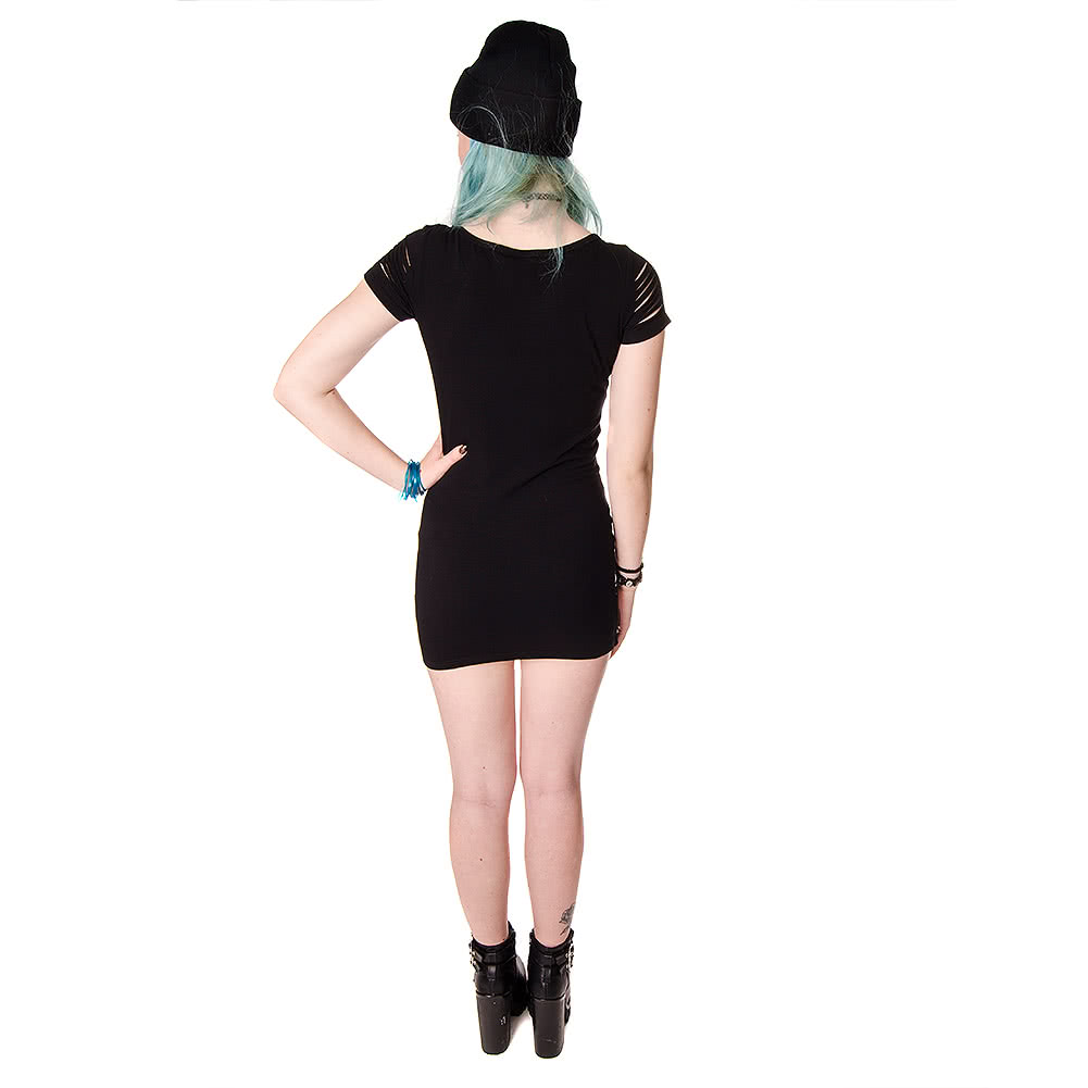 Banned Birdcage Vest Dress (Black)