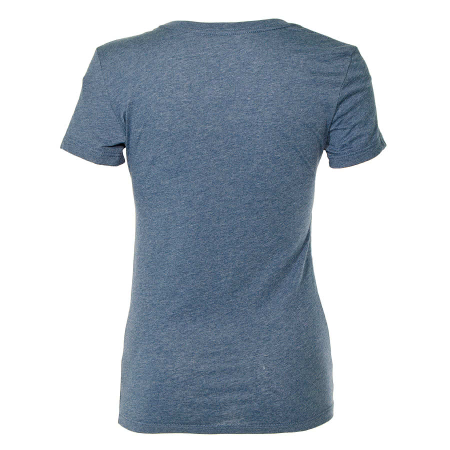 David & Goliath I Care Skinny Fit T Shirt (Blue)