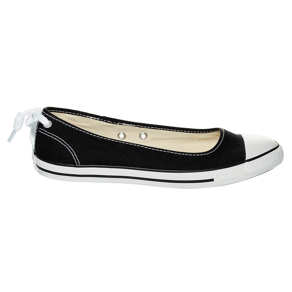Converse All Star Dainty Ballerina Shoes (Black)