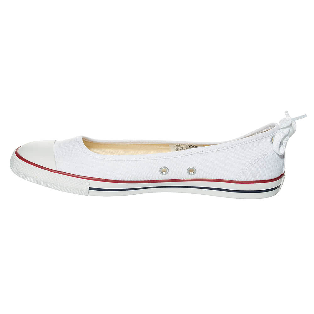 Converse All Star Dainty Ballerina Shoes (White)