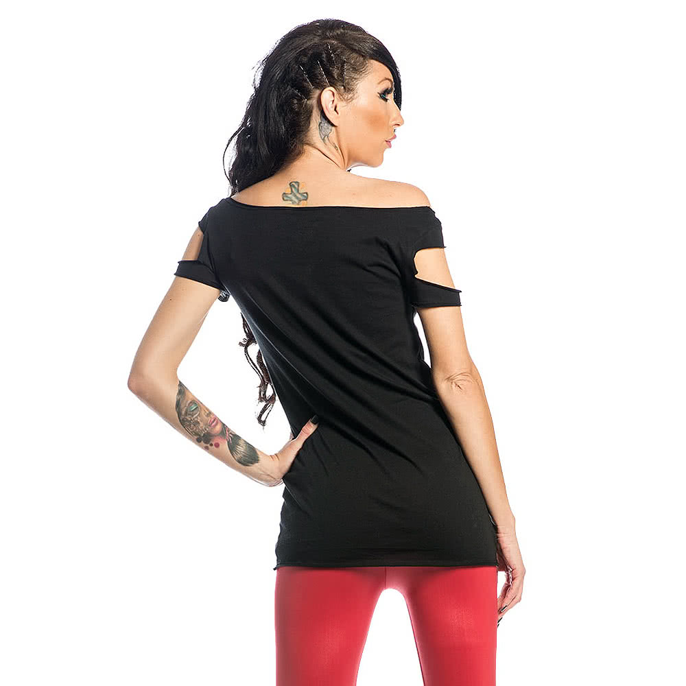 Sullen Angels Burning Both Ends Top (Black)