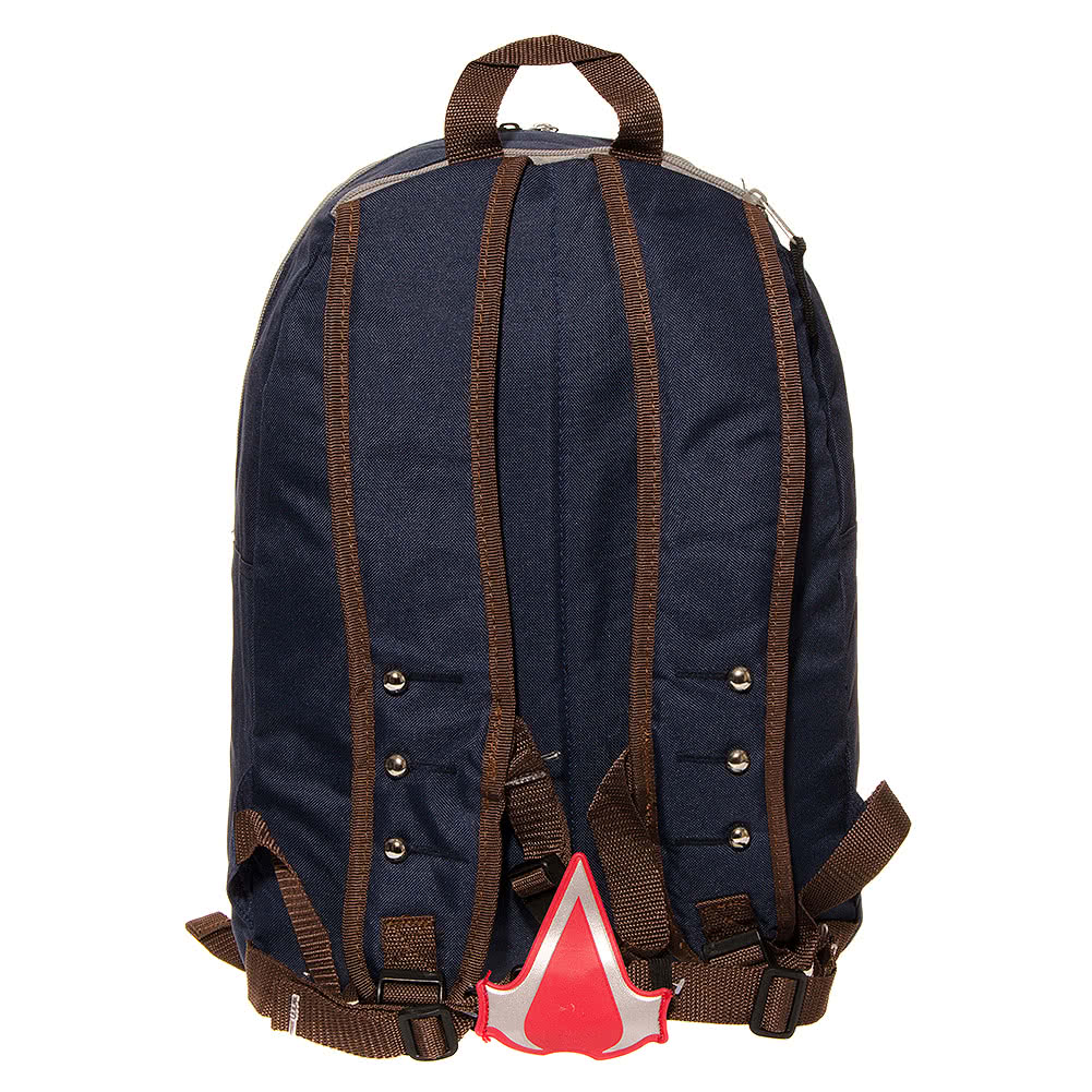 Assassins Creed 3 Hood Backpack (White/Blue)