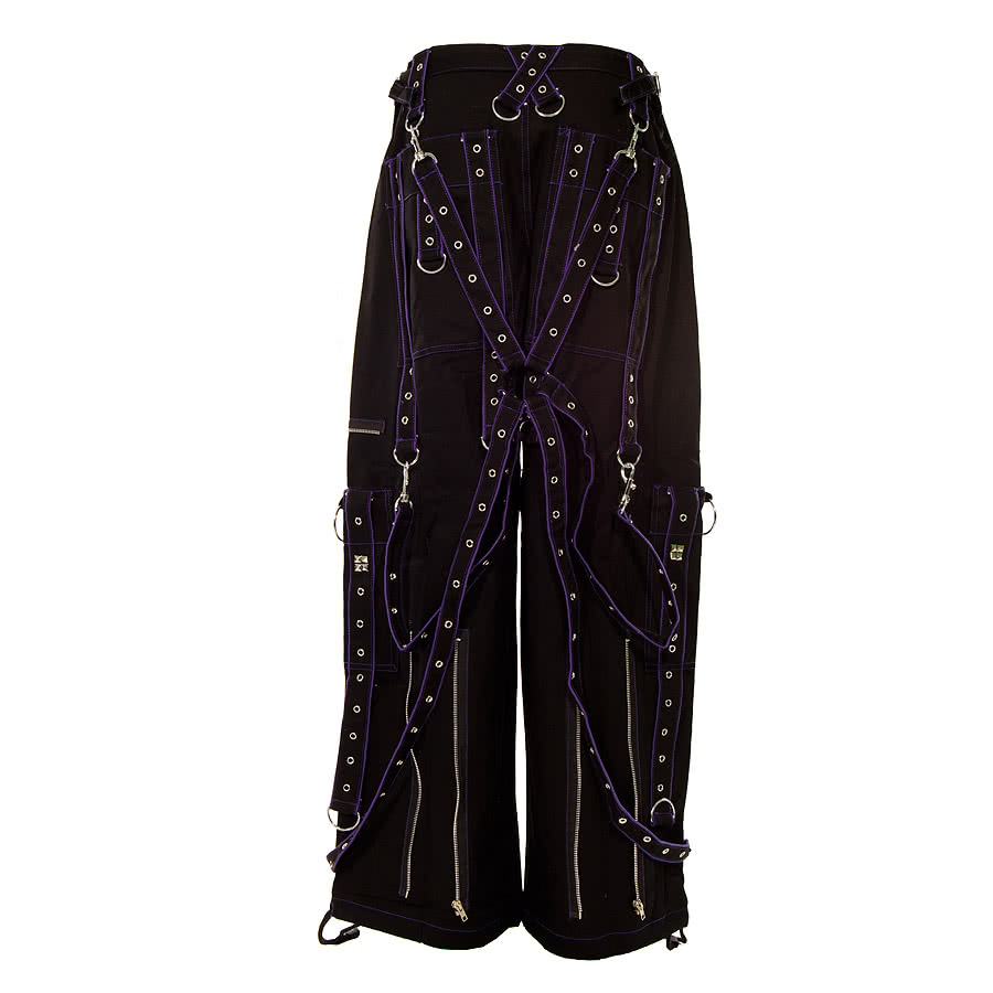 Dead Threads Terror Trousers (Black/Purple)