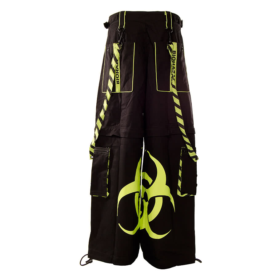 Dead Threads Biohazard Trousers (Black/Yellow)
