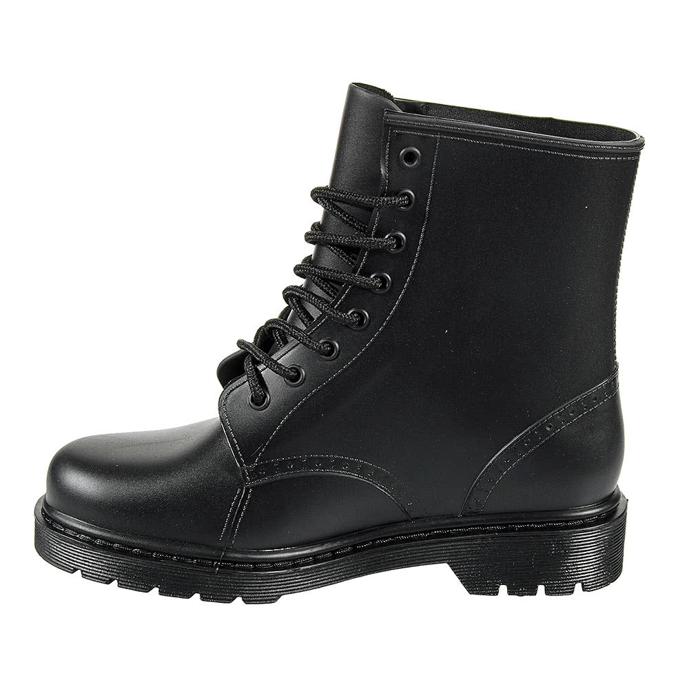 Blue Banana Jelly Boots (Black)