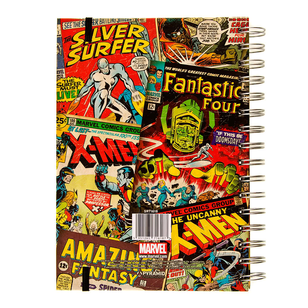 Marvel Comics Cover A5 Notebook