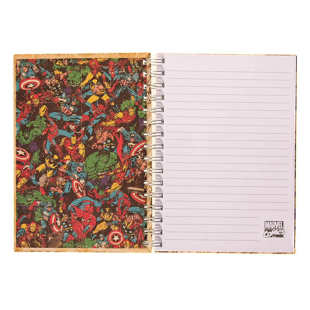 Marvel Comics Black & White Images A5 Notebook