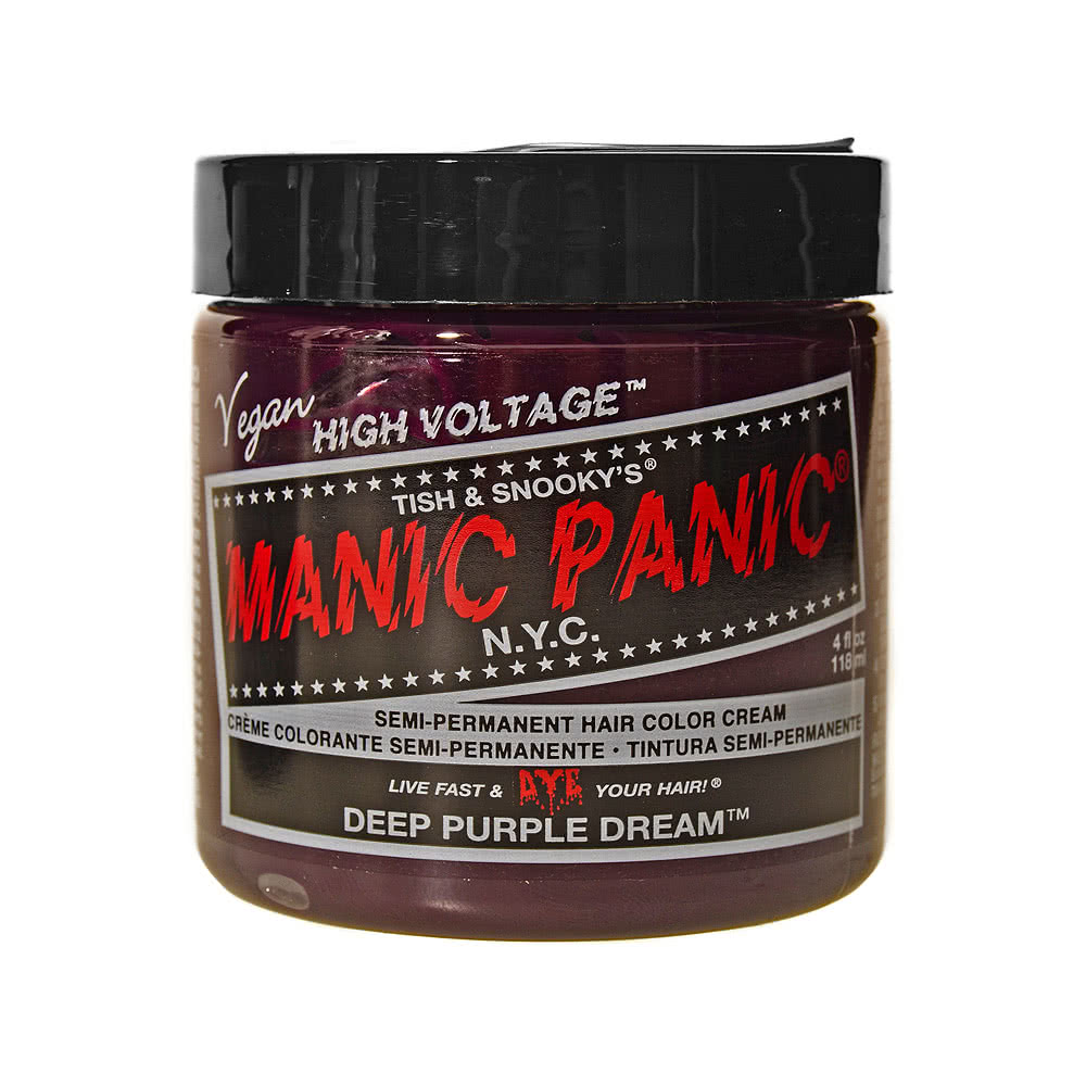 Manic Panic Classic Semi-Permanent Hair Dye 118ml (Deep Purple Dream)