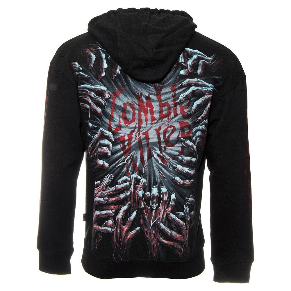 Spiral Direct Zombie Killer Hoodie (Black)