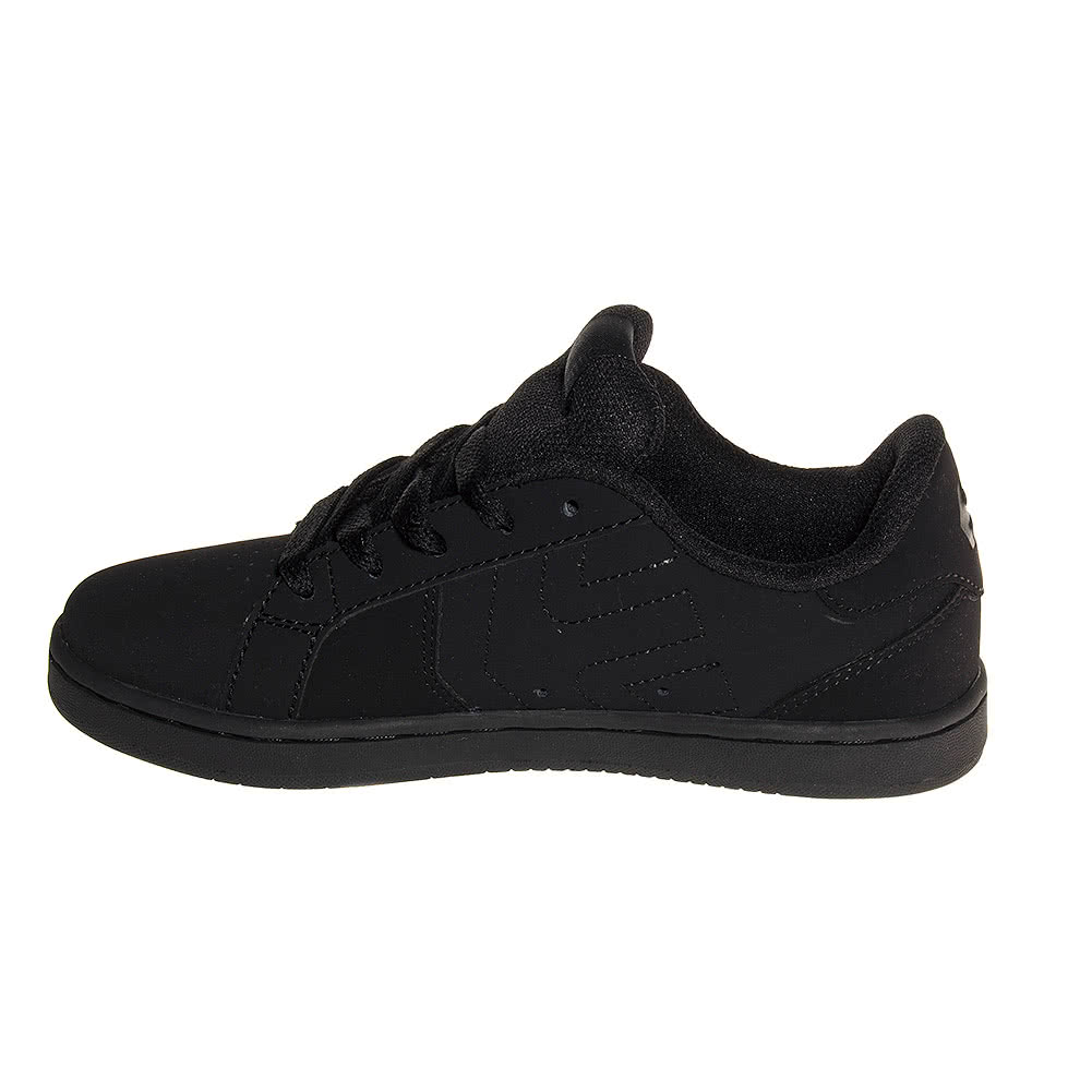Etnies Fader LS Kids Trainers (Black)