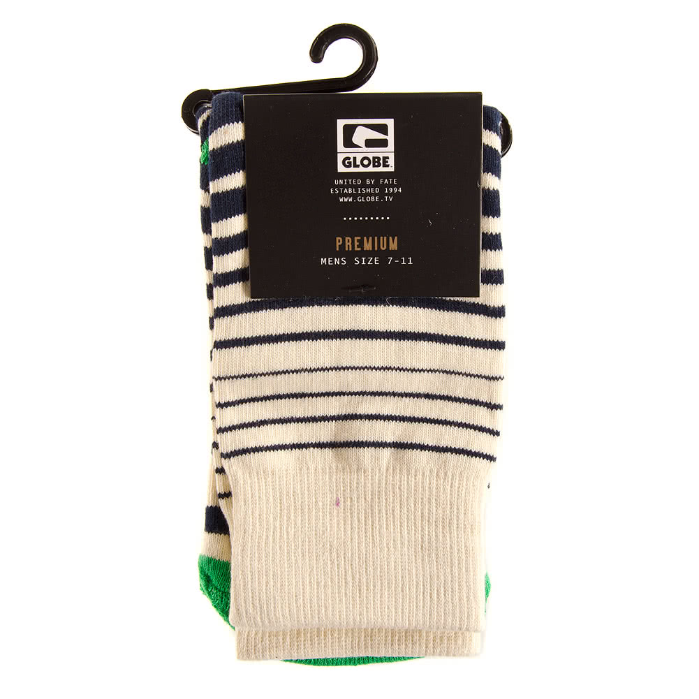 Globe Verigated Stripe Socks (UK7 - UK11)