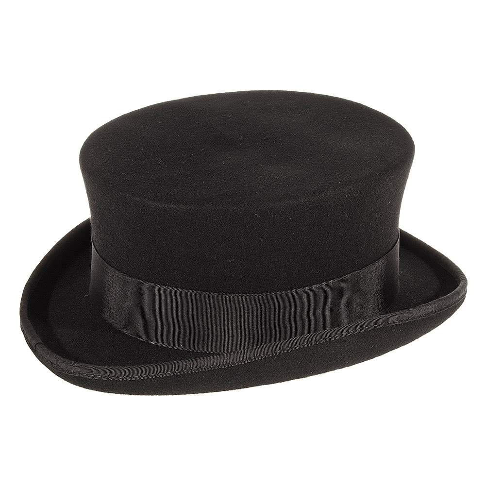 Black Major Wear Junior Short Steampunk Vintage Top Hat