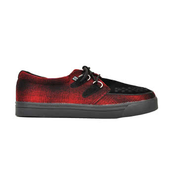 T.U.K Creeper Sneaker 2 Ring Shoes (Red)