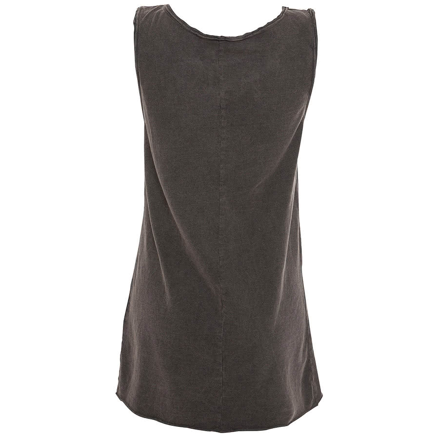 Amplified Jessie J Price Tag Vest Top (Charcoal)