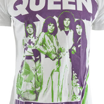 Queen 76 Premium T Shirt (White)