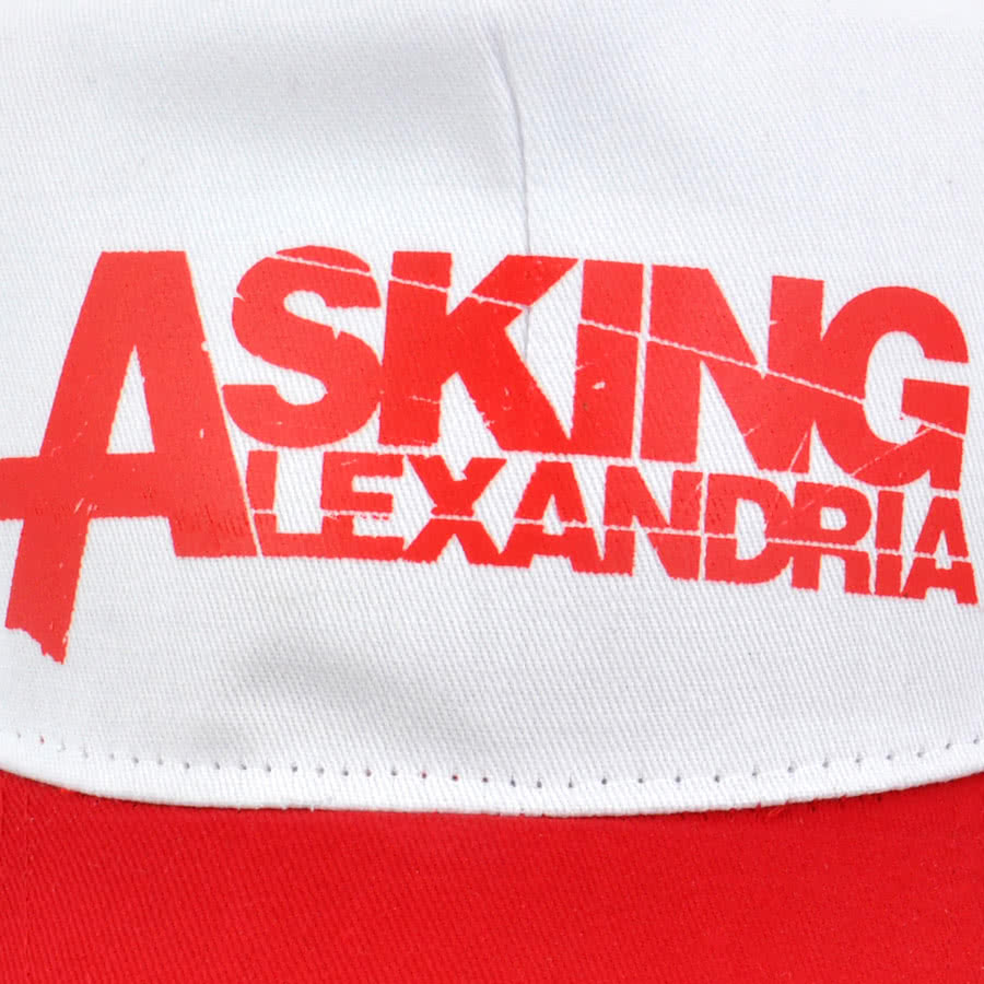 Asking Alexandria Trucker Hat (Red/White)
