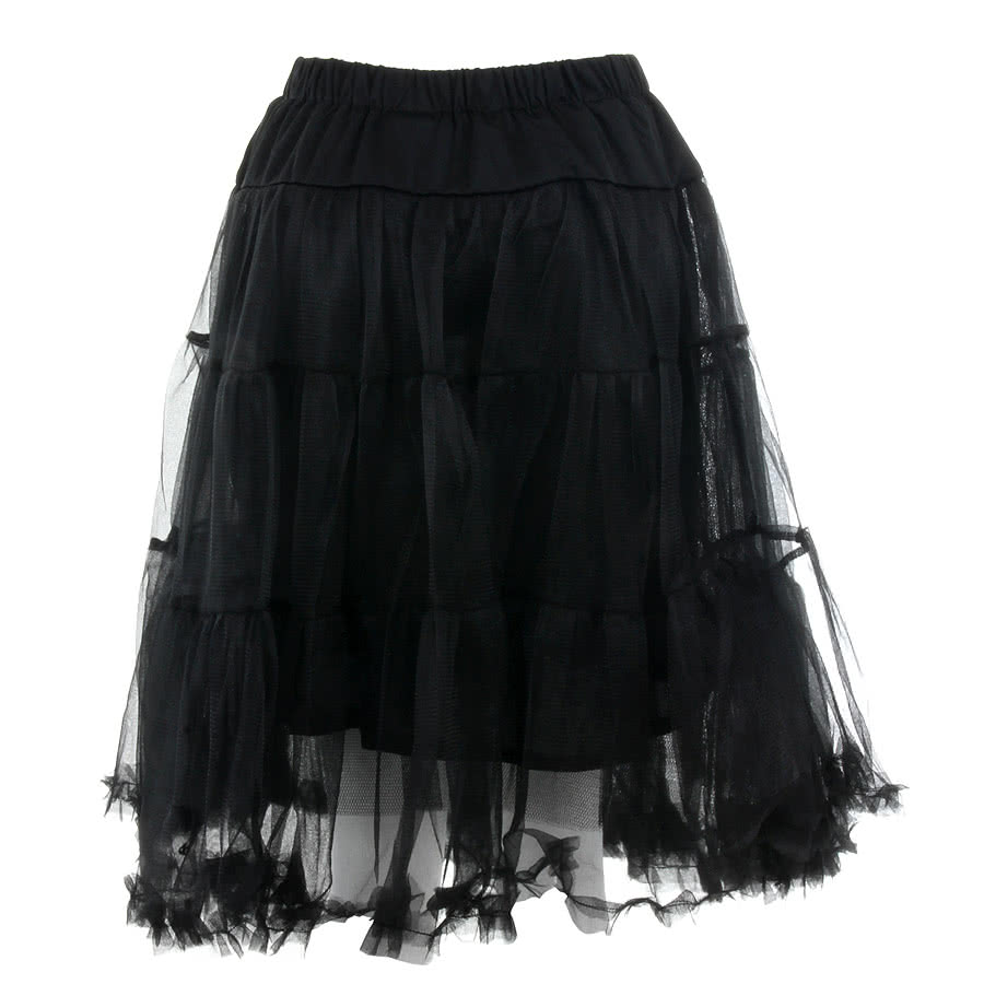 Banned Long Petticoat (Black)