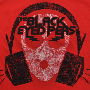 Black Eyed Peas Out Of My Mind Skinny Fit T Shirt (Red)