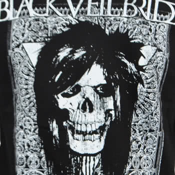 Black Veil Brides Gate Jacket (Black/White)