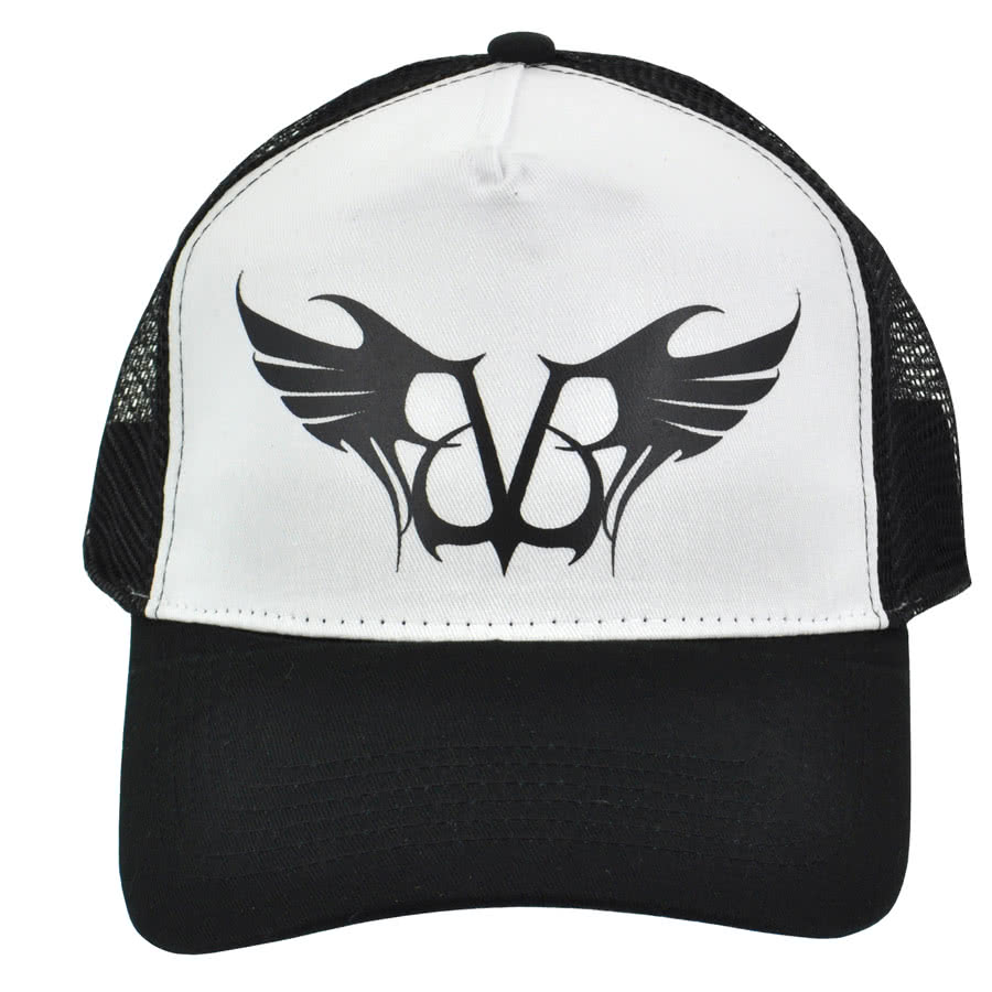 Black Veil Brides Logo Trucker Hat (Black/White)