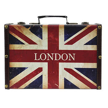 Blue Banana Union Jack Keepsake Boxes