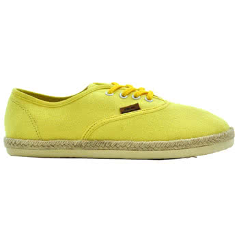 Blue Banana Espadrille Shoes (Yellow)