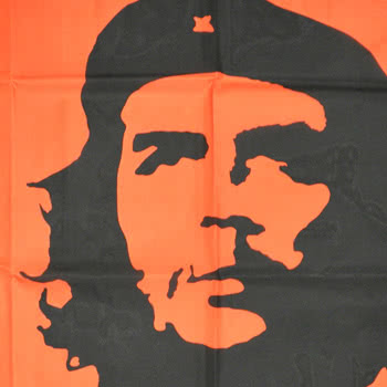 Blue Banana Che Guevara 5x3 Flag (Red)