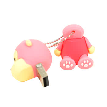 Blue Banana Monkey USB Stick (Pink)