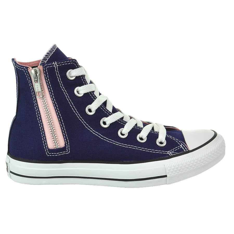 Converse All Stars Side Zip Boots (Blue)