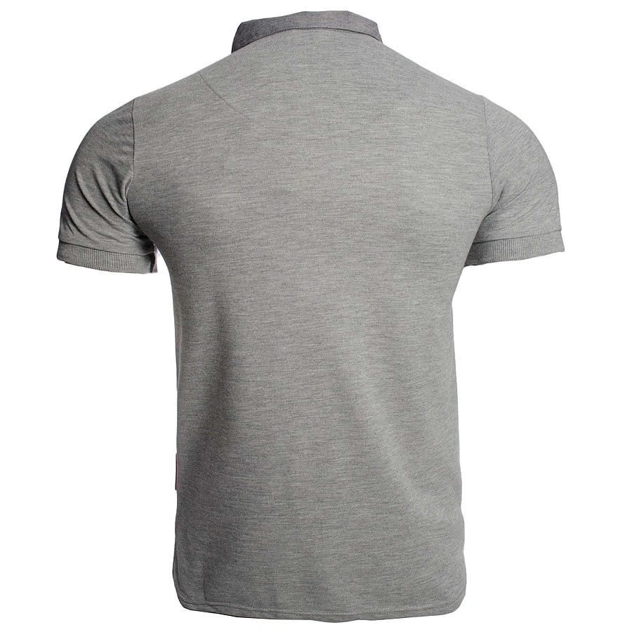 Criminal Damage Brick Polo Shirt (Grey)