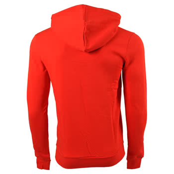 Criminal Damage Plain Skinny Fit Hoodie (Red)