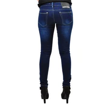 Criminal Damage Diva Stretch Jeans (Indigo)
