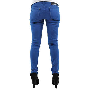 Criminal Damage Midnight Blue Skinny Fit Jeans (Blue)