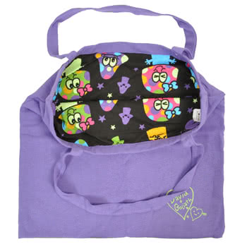 David & Goliath Mushi Mushi Glow In The Dark Bag (Purple)