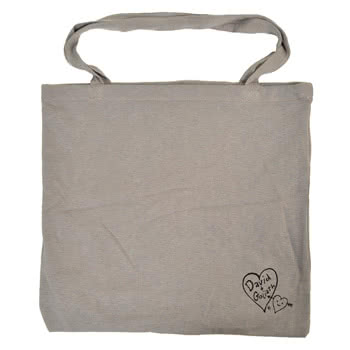 David and Goliath I Will Destroy You Bag (Grey)