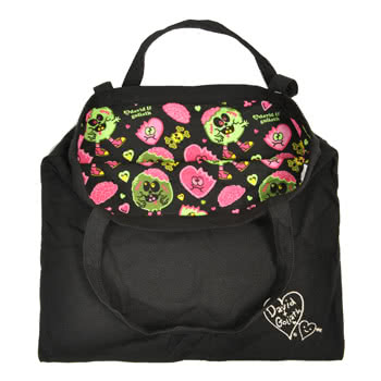 David and Goliath Zombie Love Bag (Black)