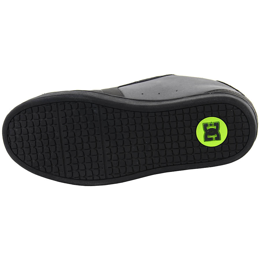 DC Net Trainers (Black/Lime)
