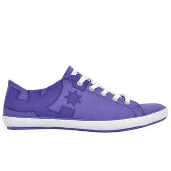 DC Cleo Trainers (Purple)