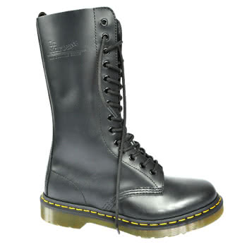 Dr Martens 1914 14 Eye Boots (Black)