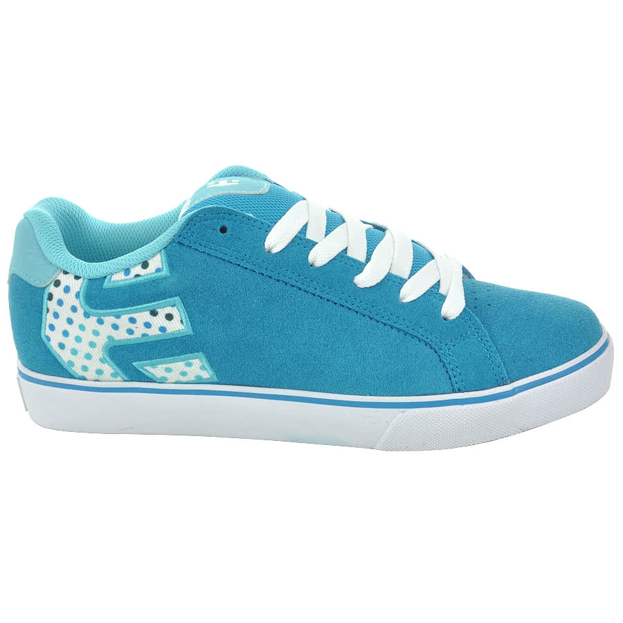 Etnies Fader Trainers (Blue/White)