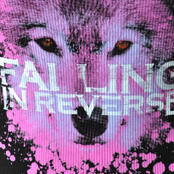 Falling In Reverse Wolf Vest Top (Black)