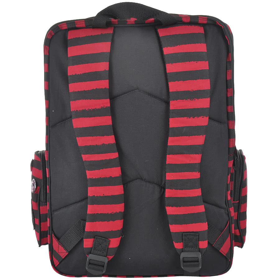 Iron Fist Vicious Mess Backpack (Black/Red)