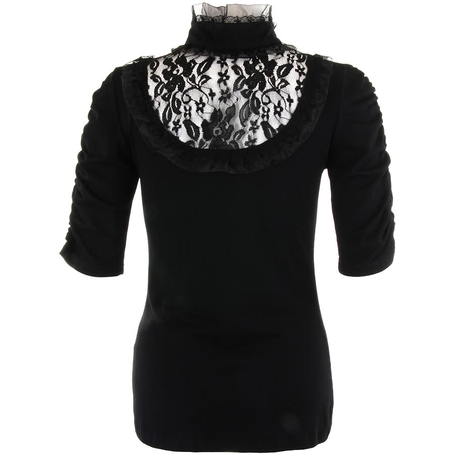Jawbreaker Lace Top (Black)