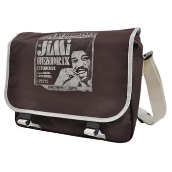 Jimi Hendrix Shoulder Bag (Brown)